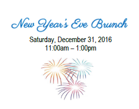 New Year's Eve Brunch